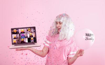 Aprende como hacer una fiesta virtual sin ser una experta